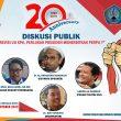 IPJI Gelar Diskusi Publik Revisi UU KPK, Perlukah Presiden Menerbitkan Perpu?