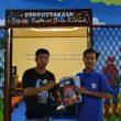 Komunitas Literasi Babel Sumbangkan Buku untuk Perpustakaan Depati Bahrin Desa Kimak