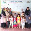 PAUD Intan Asri Mengunjungi Rumah Baca Literasi Pangkalpinang