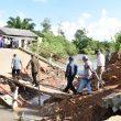 Gubernur Erzaldi Bantu Warga Evakuasi Pencarian Korban Jembatan Delas