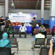 ASN Pemprov Babel Bantu Paket Sembako Untuk Masyarakat Pelabuhan Tanjung Kalian