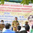 Gubernur Erzaldi Resmikan Program Padat Karya Penanaman Mangrove di Kurau Timur