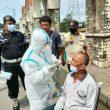 Polisi Sediakan Tes Swab Antigen Gratis di Pasar Tegal Danas Cikarang Pusat