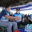 KASAU Ikuti Lomba Menembak di AWR Buding Belitung Timur