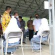 Mendagri Tito Karnavian Tinjau Vaksinasi di SMAN 2 Pangkalpinang