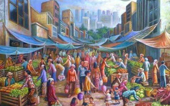 Pasar di Palembang Tutup Satu Minggu Setelah Pedagang Positif Covid-19