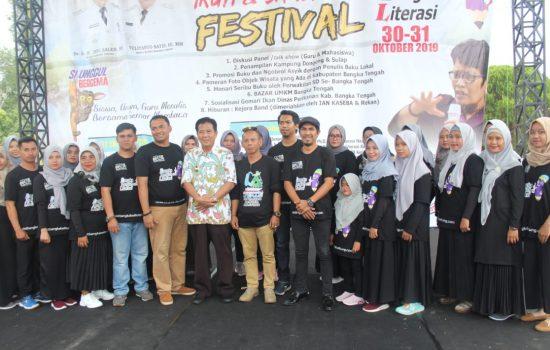 Pengukuhan Komunitas Literasi Bateng