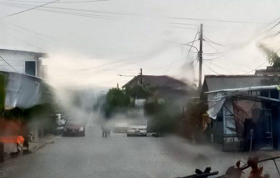 Hujan Sebentar Jalan Abdul Hamid Banjir Kota Pangkalpinang Banjir
