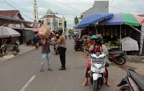 Kapolsek Bukit Intan Imbau 3M dalam Ops Yustisi