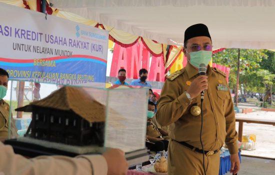 Gubernur Erzaldi Harap Para Nelayan Muntok Dapat Memanfaatkan Program KUR