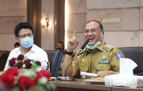 Gubernur Erzaldi Audiensi dengan Warga Calon Petani Budi Daya Porang