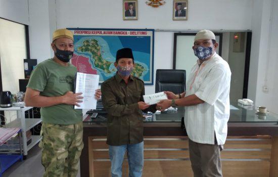 Ketua AITI Ismiryadi Memberikan Bantuan untuk Pembangunan Musala Ar-Rasyiid