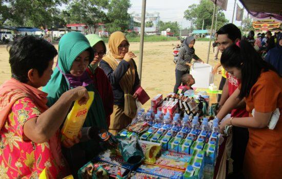 Jelang Hari Juang TNI AD, Korem 045/Gaya Gelar Pasar Murah