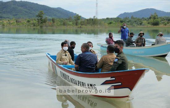 Peringatan Hari Pariwisata Dunia Disparbudkepora Babel Gelar Publikasi Destinasi Pariwisata di Danau Puding