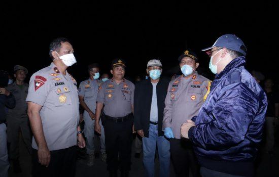Gubernur Erzaldi Rosman Patroli dan Sosialisasi Untuk Menekan Penyebaran Covid-19
