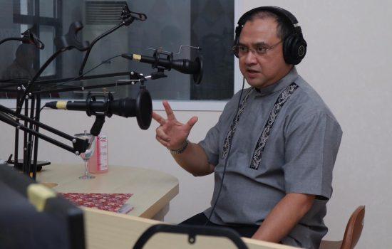 Bersama RRI Pro 3 Jakarta, Gubernur Erzaldi Jelaskan Antisipasi Penyebaran Covid-19 di Kepulauan Babel